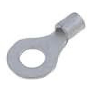 Zakončovací očko M6 2,5-6mm2 neizolované pocínovaný měď