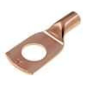 Koncovka-trubkové očko M10 10mm2 krimpovací na kabel měď