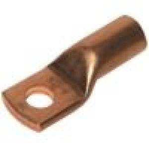 Koncovka-trubkové očko M6 25mm2 krimpovací na kabel L:28,5mm
