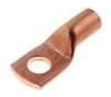 Koncovka-trubkové očko M8 25mm2 krimpovací na kabel L:30,5mm