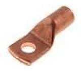 Koncovka-trubkové očko M10 70mm2 krimpovací na kabel měď