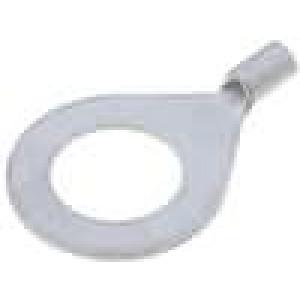 Zakončovací očko M10 0,5-1mm2 krimpovací na kabel pocínovaný