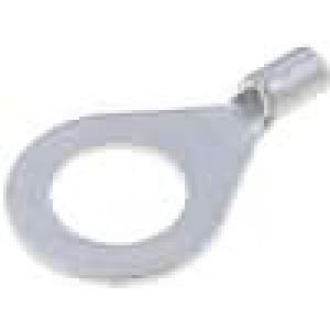 Zakončovací očko M8 0,5-1mm2 krimpovací na kabel neizolované