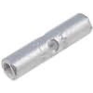 Trubičková koncovka neizolované mosaz 0,3-1,42mm2 pocínovaný