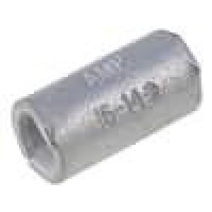 Trubičková koncovka neizolované mosaz 1,25-2mm2 pocínovaný