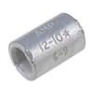 Trubičková koncovka neizolované mosaz 3-6mm2 pocínovaný