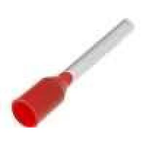 Trubičková koncovka izolovaná měď Izolace polypropylén 1mm2