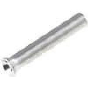 Trubičková koncovka neizolované měď 0,25mm2 8mm pocínovaný