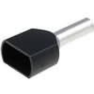 Trubičková koncovka izolovaná, dvojité měď Izolace PVC 1,5mm2