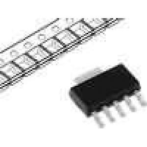 MCP1824T-ADJEDC Stabilizátor napětí nastavitelný 6V 0,8-5V 300mA SMD