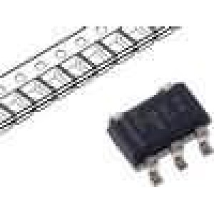 TPS76333DBVR Stabilizátor napětí LDO, nastavitelný 3,3V 0,15A SMD SOT23