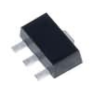L79L05ABU Stabilizátor napětí LDO, nenastavitelný -5V 0,1A SMD SOT89