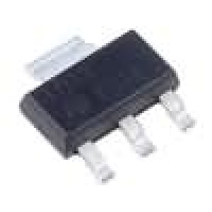 LD1117S33C Stabilizátor napětí LDO, nenastavitelný 3,3V 0,95A SMD SOT223