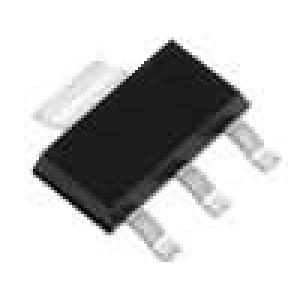 LD1117S50 Stabilizátor napětí LDO, nenastavitelný 5V 0,95A SMD SOT223
