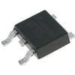 LM1117DT-2.5/NP Stabilizátor napětí LDO, nenastavitelný 2,5V 0,8A SMD TO252