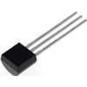 LP2950CZ-3.3/NOPB Stabilizátor napětí LDO, nenastavitelný 3,3V 0,1A THT TO92