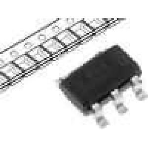 LP2980IM5-5.0 Stabilizátor napětí LDO, nenastavitelný 5V 0,05A SMD SOT23