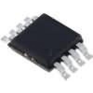 MAX1792EUA33+ Stabilizátor napětí LDO, nenastavitelný 3,3V 0,5A SMD uMAX8