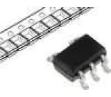 TC1017-3.3VLT Stabilizátor napětí LDO, nenastavitelný 6V 3,3V 150mA SMD