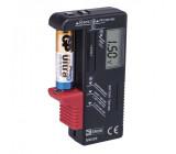 Univerzální tester baterií AA,AAA,C,D,9V, knoflíkové
