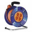PVC prodlužovací kabel na bubnu - 4 zásuvky 20m SCHUKO