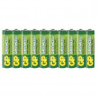 Zinkochloridová baterie GP Greencell R03(AAA), fólie