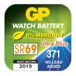 Knoflíková baterie do hodinek GP 371F krabička