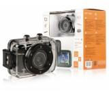 Akční HD kamera 720p s vodotěsným pouzdrem