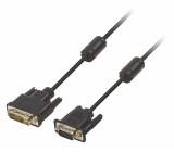 Kabel DVI – VGA, 12+5pinová zástrčka DVI-A – zástrčka VGA, 3,00 m, černý