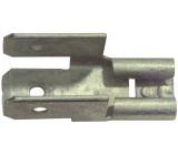 Neizolované konektory, 6,3 mm