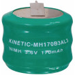 Battery pack NiMH 3.6 V 170 mAh