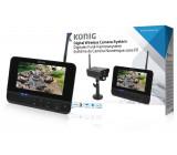 Digitální bezdrátový 2,4 GHz kamerový systém s monitorem o velikosti 17,8 cm