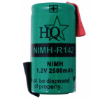 Battery pack NiMH 1.2 V 2500 mAh