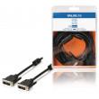 Kabel, 24 + 1-pinová zástrčka DVI-D - 24 + 1-pinová zástrčka DVI-D, 5,00 m, černý