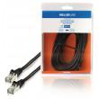 Síťový kabel FTP CAT5e, zástrčka RJ45 - zástrčka RJ45, 10,0 m, černý