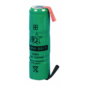 Battery pack NiMH 3.6 V 300 mAh