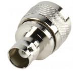 UHF plug - BNC kontra adapter