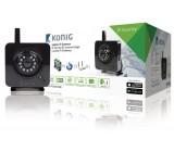 IP kamera pro vnitřní použití, černá