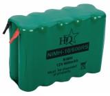 Akumulátor 12v/600mah - nimh - pásk.vývody