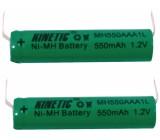 Akumulátor 1.2v/550mah - nimh - pásk.vývody
