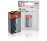 Alkalická baterie 9 V, blistr 1 ks