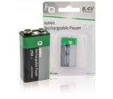 Nabíjecí NiMH baterie 9 V, 250 mAh, blistr 1 ks