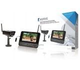 Digitální bezdrátová sledovací sada pro vzdálené sledování z mobilního zařízení, 2,4 GHz, 1 kamera, 1 rekordér s integrovaným 7