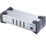 Video switch DVI-I, 4-port