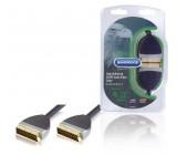 Kvalitní Kabel SCART pro Přenos Zvukového a Obrazového Signálu 1.0 m