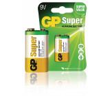 Battery alkaline 9 V Super 1-blister