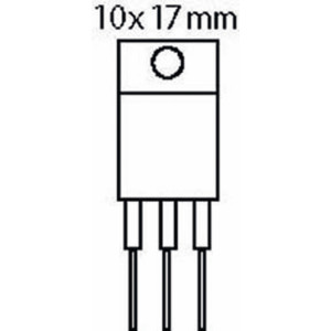 Thyristor 800 V 12 A 15 mAh