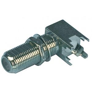 Konektor f zásuvka ploš.spoj - axiální