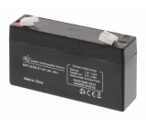 Lead acid battery 6 V 1.2 Ah