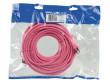 Patch kabel FTP CAT 6, 15 m, růžový